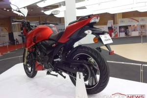 TVS Apache 200cc bike