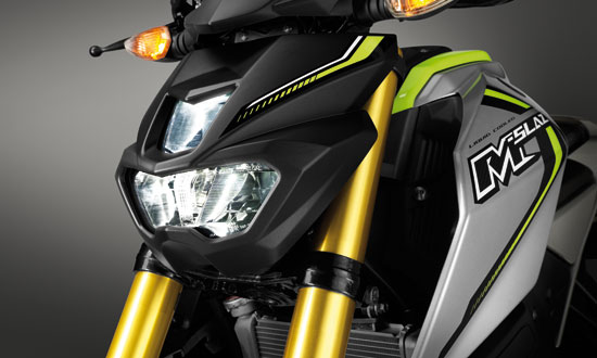 Yamaha M-Slaz LED headlamps