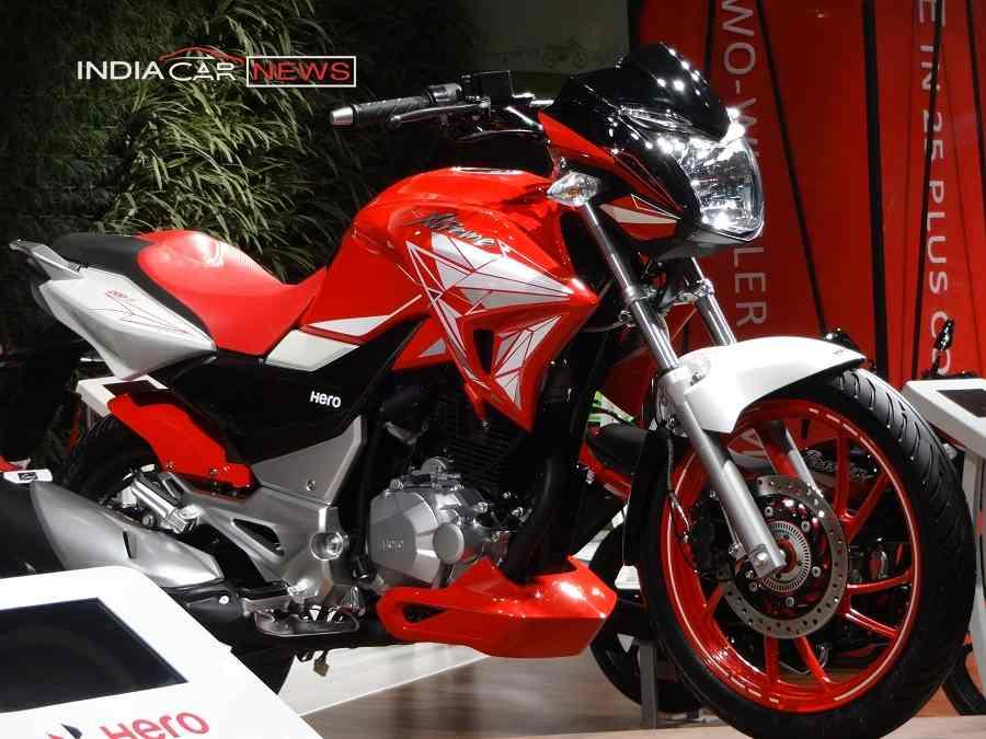 Hero Xtreme 200 S at auto expo