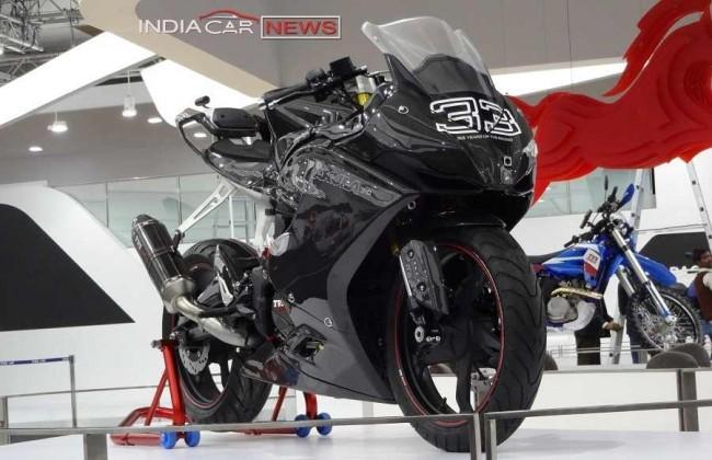 TVS Akula 310 motorcycle