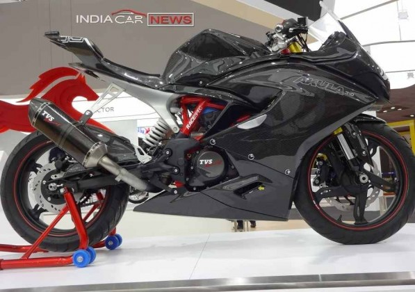 TVS Akula 310 racing bike