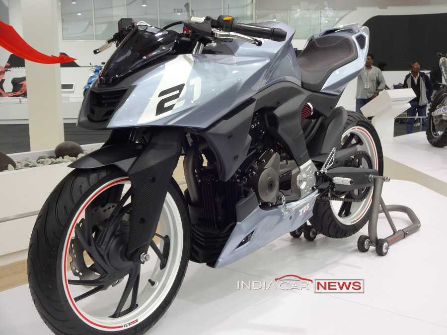TVS X21 concept front side