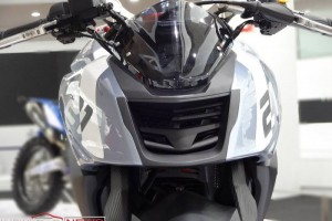 TVS X21 concept front view