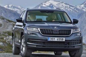 2017 Skoda Kodiaq 7 seater India front-side