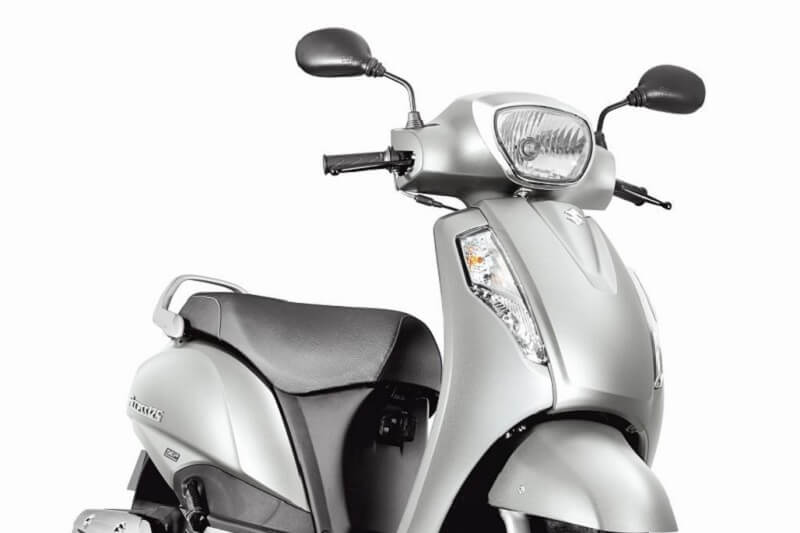New Suzuki Access Metallic Sonic Silver