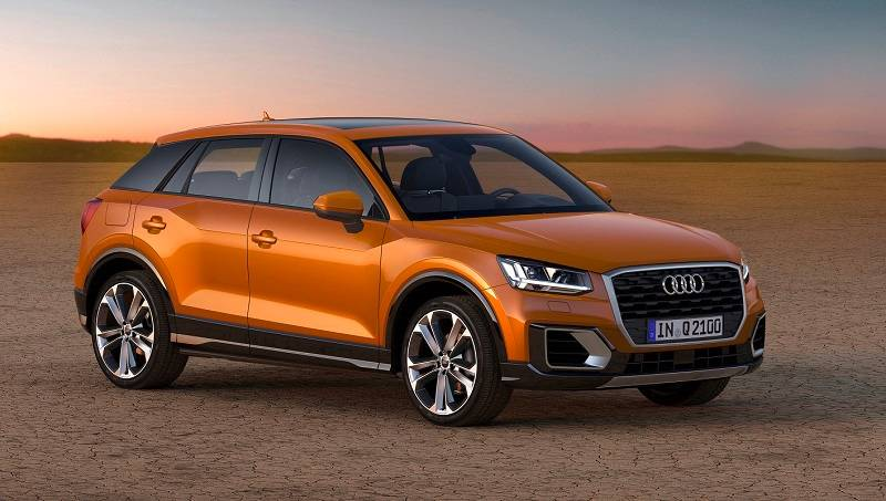 Audi Q2 Front-side profile