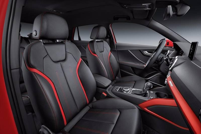 Audi Q2 India seats