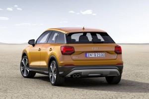 Audi Q2 rear view
