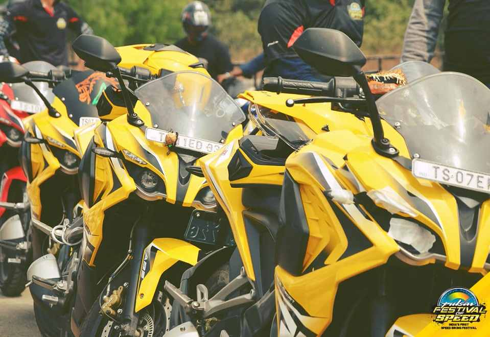 Bajaj Pulsar Festival of Speed