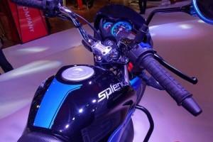 Hero Splendor iSmart 110 fuel tank