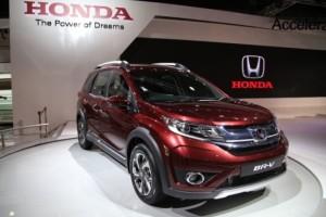 Honda BR-V compact SUV price