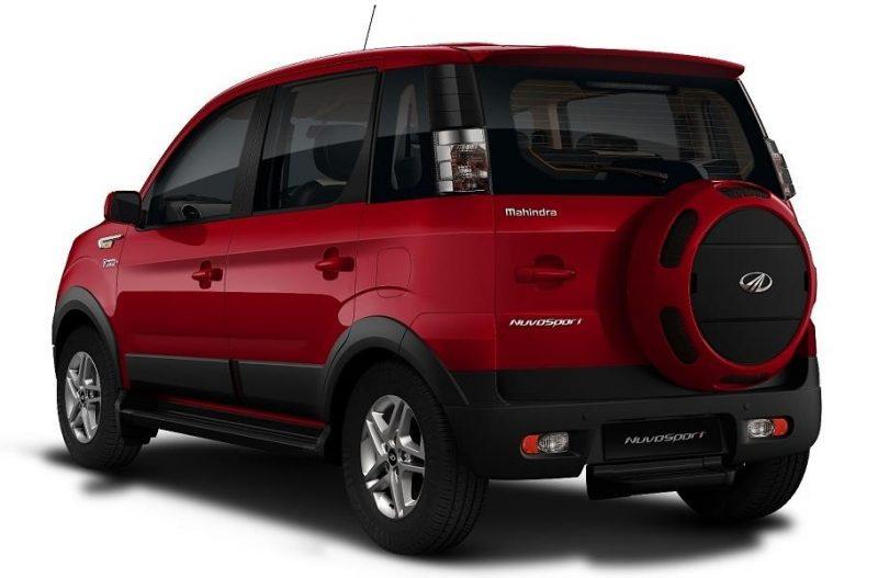 Mahindra NuvoSport rear profile