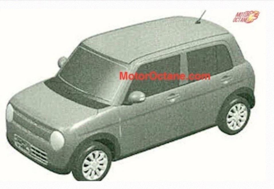 Maruti Alto Lapin /Kei Patent Sketch leaked