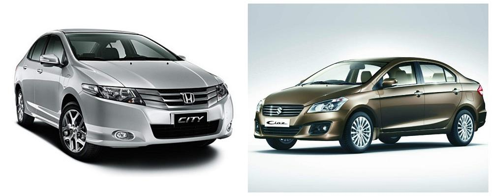 Maruti Ciaz Vs Honda City February 2016 Sales