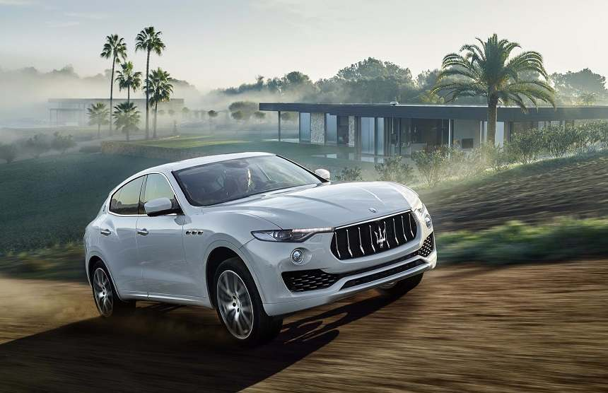 Maserati Levante Front Side Profile