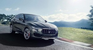 Maserati Levante Front-Side View