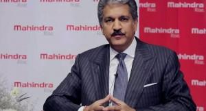 Mahindra's Chairman Anand Mahindra