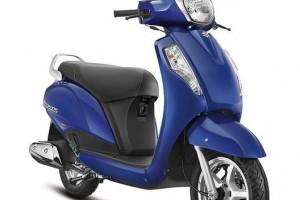 New Suzuki Access 2016 in Blue