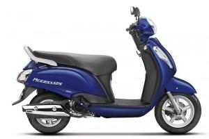 New Suzuki Access 125 in Blue color