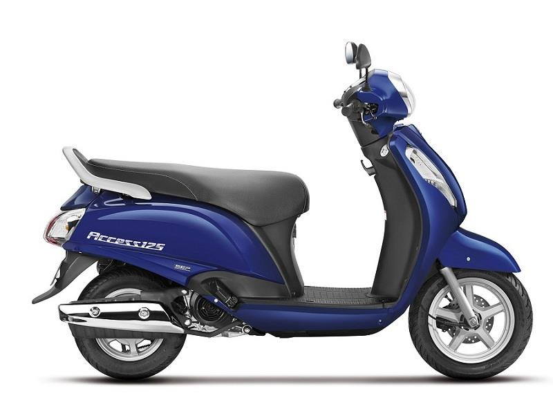 new suzuki access 125 scooter india car news. Black Bedroom Furniture Sets. Home Design Ideas