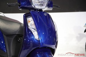 New Suzuki Access 2016 headlamp