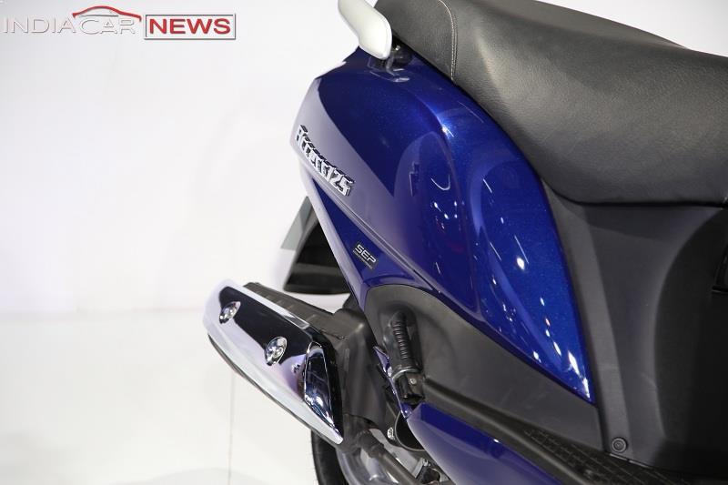 New Suzuki Access 125 exhaust system