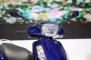 New Suzuki Access 2016 front end