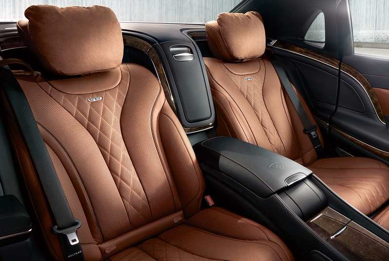 Mercedes-Maybach S600 Guard Interiors