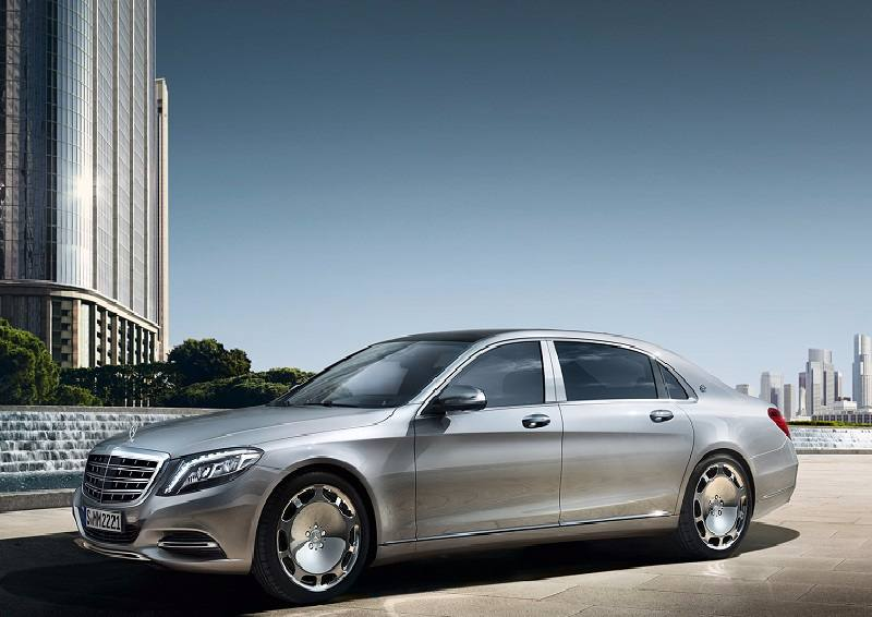 Mercedes-Maybach S600 Guard front side profile