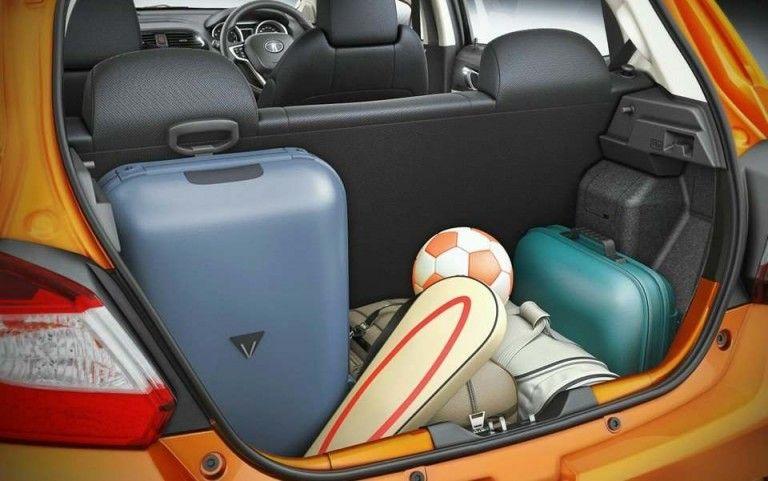 Tata Tiago boot capacity