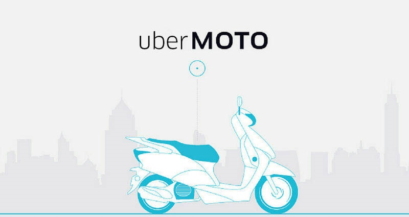 UberMoto bike taxi service India