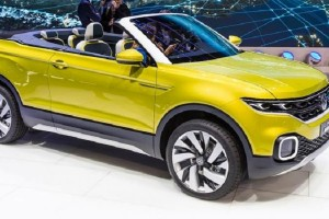 Volkswagen T Cross Breeze at Geneva Motor Show
