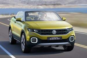 Volkswagen T Cross Breeze front