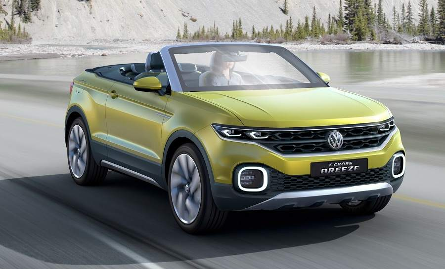 Volkswagen T Cross Breeze front side