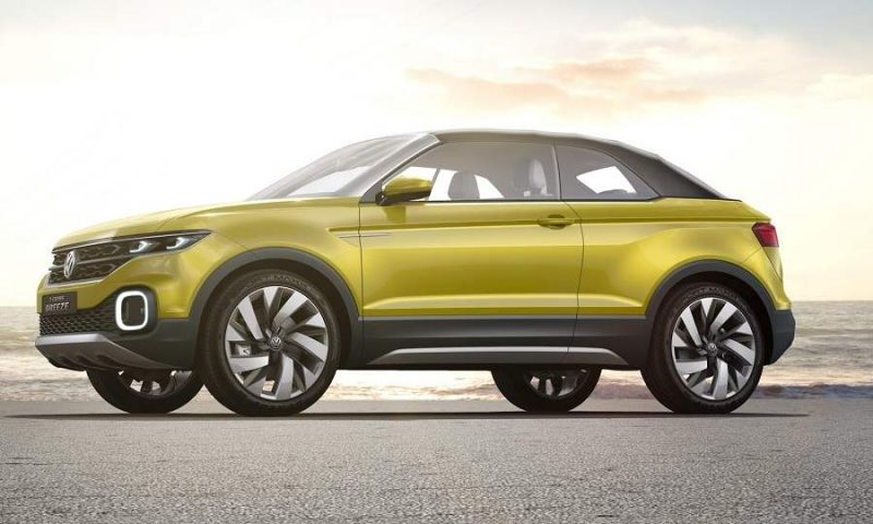 Volkswagen T Cross Breeze side profile