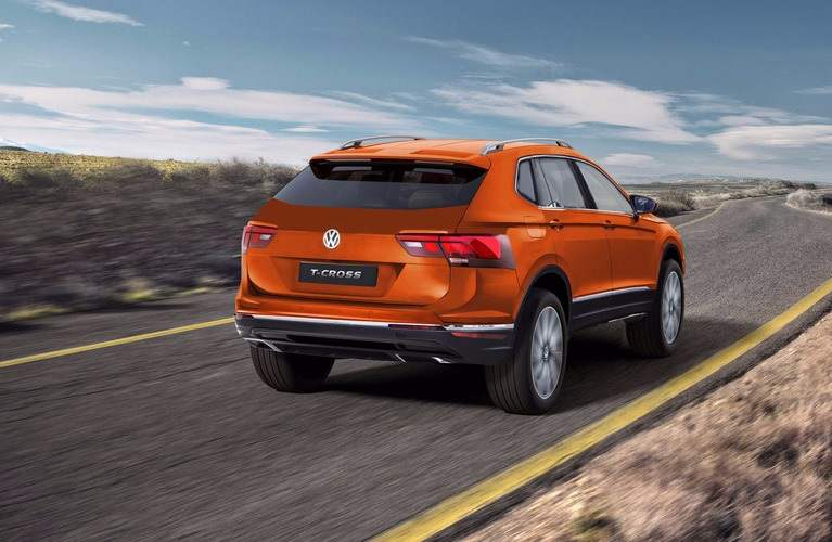 upcoming volkswagen cars in india compact SUV