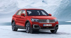 Volkswagen T-Cross Breeze rendering