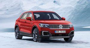Volkswagen T-Cross Breeze rendering