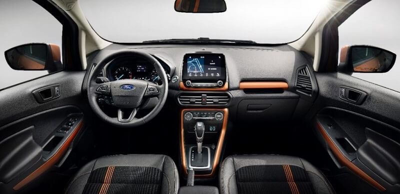 New Ford EcoSport 2017 interior