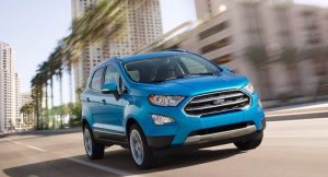 New Ford EcoSport 2017 India