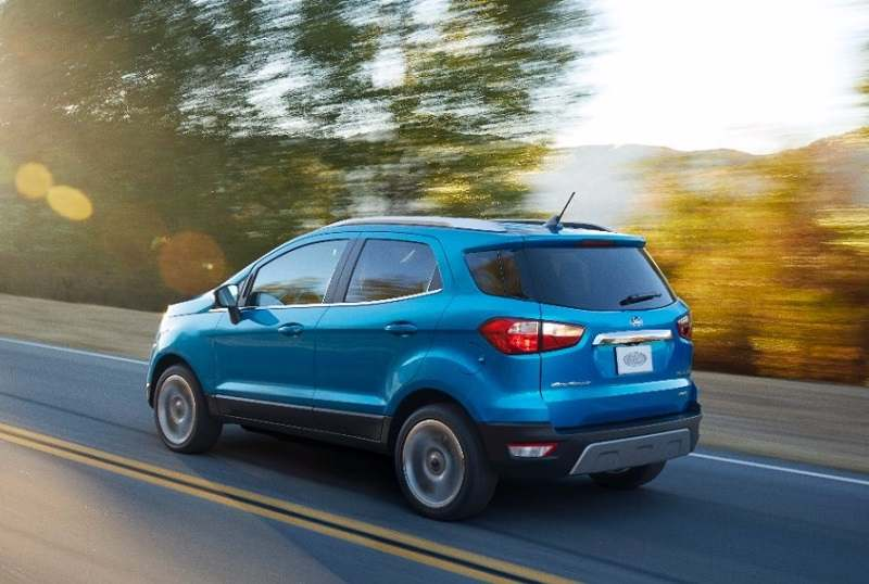New Ford EcoSport 2017 rear
