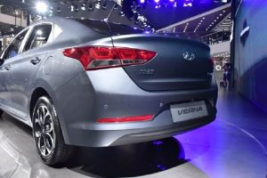 2017 Hyundai Verna India rear