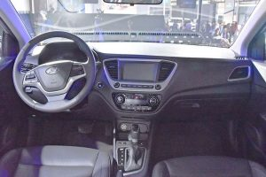 2017 Hyundai Verna India interior