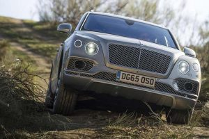 Bentley Bentayga India front