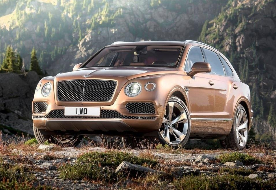 Bentley Bentayga India