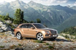 Bentley Bentayga India side view