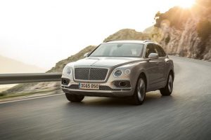 Bentley Bentayga India in grey color