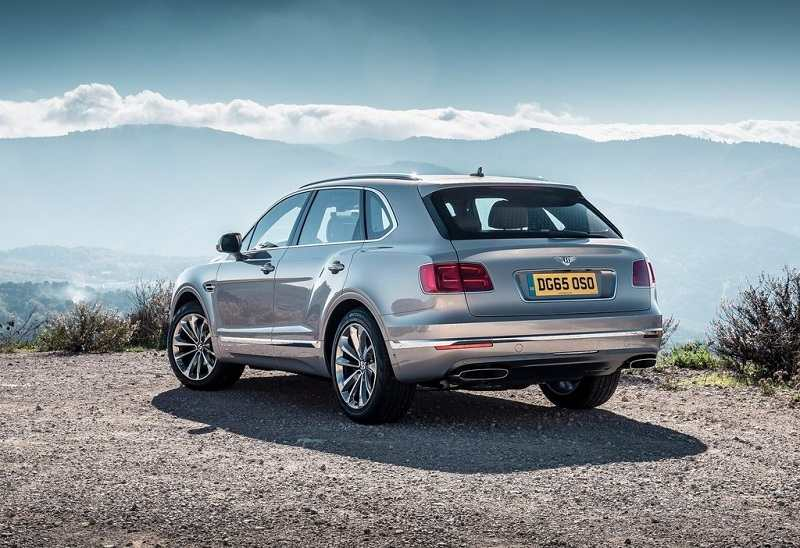 Bentley Bentayga India rear