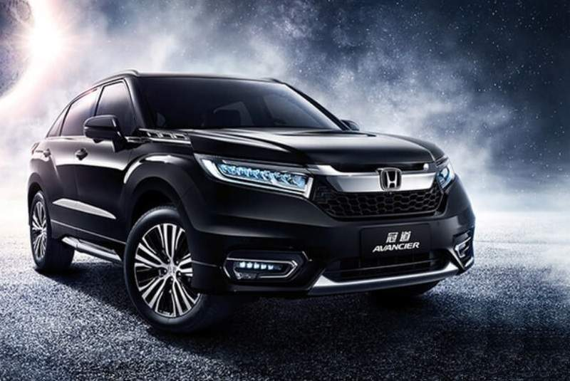 Honda Avancier Suv Launch Specifications Images