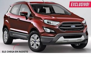 New Ford EcoSport 2017 rendered